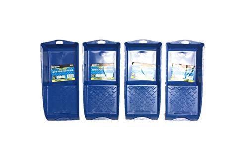 brufer 471584er Pack der geformt Mini Kunststoff Paint für 10,2cm Lackwalzen-Bulk Pack von 4Farbwannen