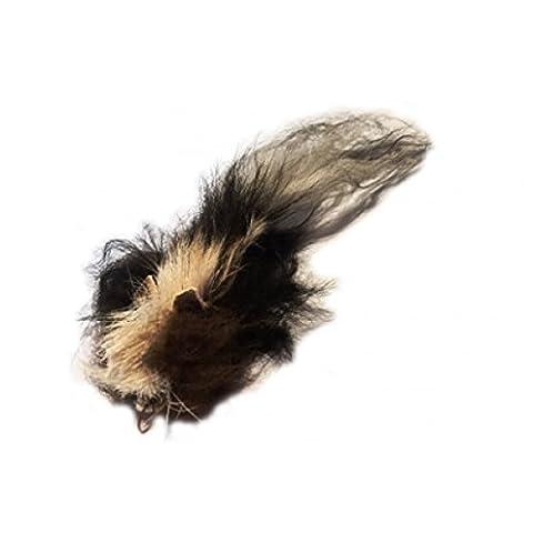 Big Boy Skunk (Stinktier) aus Büffel- & Schaffell - Ersatz-Anhänger für Flying Frenzy / PurrSuit / DaBird