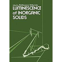 Luminescence of Inorganic Solids