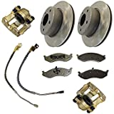 Complete Front Brake Service Kit / 2 piece composite type