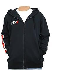 Game Effect Costume Cosplay N7 Hoodie Jacket Sweatershirt Updated Version Xcoser