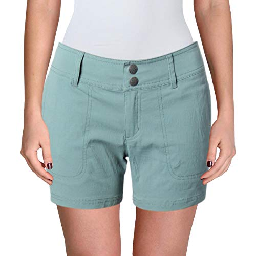 prAna: Danica 12,7cm Hosenlänge Shorts, damen, W3118RG12, Starling Green, 0x5 (Shorts Yoga Prana)