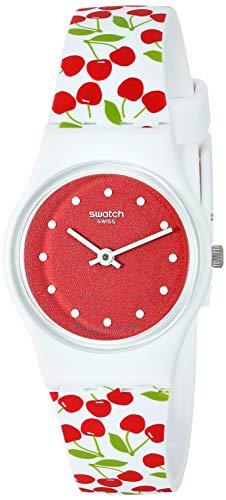 Swatch Orologio Analogico Quarzo Donna con Cinturino in Silicone LW167