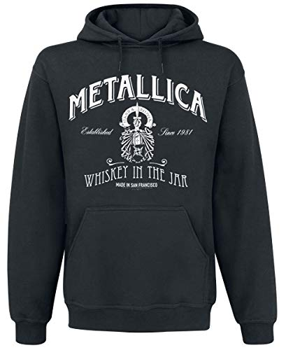 Metallica Whiskey In The Jar Sudadera con Capucha Negro XXL