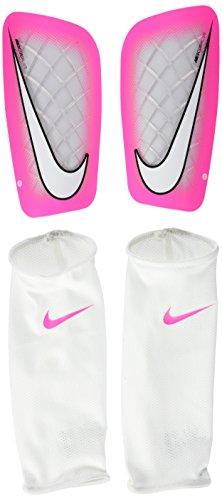 Nike Mercurial Lite Espinillera, Unisex adulto, Negro (White / Pink Blast), XL