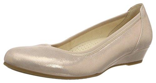 Gabor Shoes Damen Comfort Geschlossene Ballerinas, Rosa (Rouge 14), 42 EU