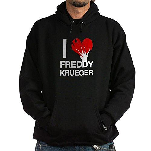 CafePress I Love Freddy Krueger Hoodie - Pullover Hoodie, Hooded Sweatshirt