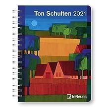 Ton Schulten 2021 - Diary - Buchkalender - Taschenkalender - 16,5x21,6: Diary
