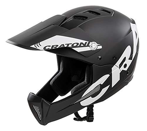 Cratoni All Mountain Helm Shakedown (S-M (53-57 cm), Black-matt (schwarz))