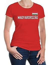 buXsbaum Girlie T-Shirt Ungarn