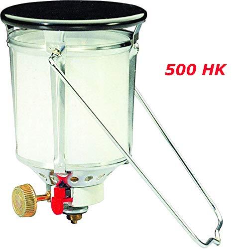 PAC INTERNATIONAL ✅⭐⭐⭐⭐⭐✅ 500HK Starklicht Gaslampe FAVORITA PIEZO - für GAZ-Gasflaschen R901 R904 oder R907 - Aufsatz Campinglaterne