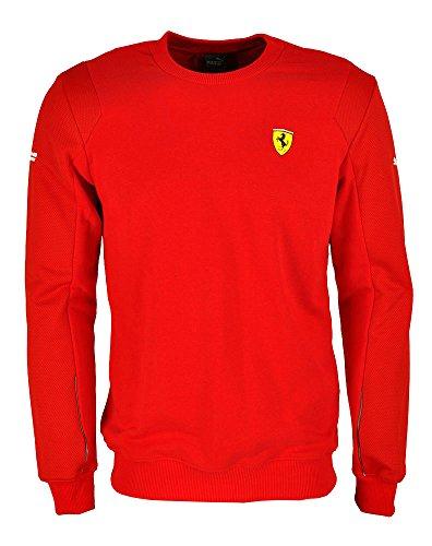 Puma SF Scuderia Ferrari Crew Neck Sweat Sweatshirt rot XS