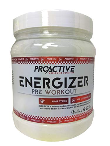 ProActive Worldwide Nutrition, Energizer 225g - 35 Dosierung - Aminosäuren mix (Orange)