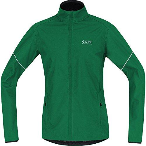 Gore Running Wear Essential Active Shell Partial - Chaqueta para hombre, color verde, talla L