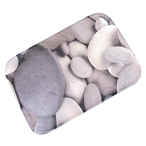 Fußmatte Schmutzfangmatte Türmatte Flanell Polyester Material Rutschfester Waschbarer -