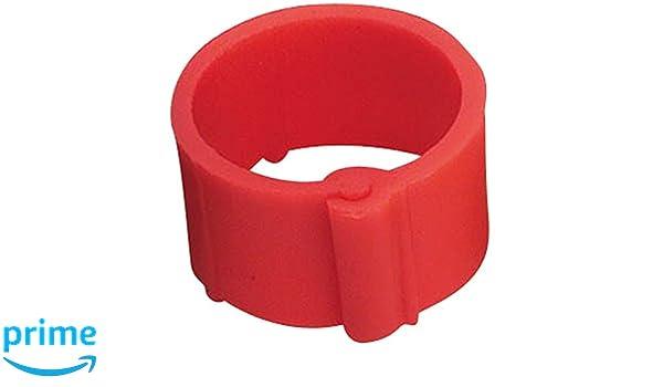 Ring zur Kennzeichnung von Gefl/ügel mit Clips UKAL