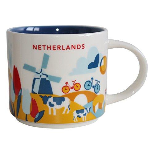 Starbucks Niederlande Netherlands Mug YAH You are here Collection - 14 fl oz / 414 ml -