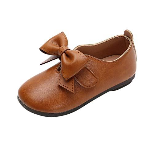 3cbb28a605cbe Bébé Fille Bowknot Chaussures en Cuir Sneaker Semelles Souples  Anti-dérapantes Chaussures Bébé Fille Bowknot