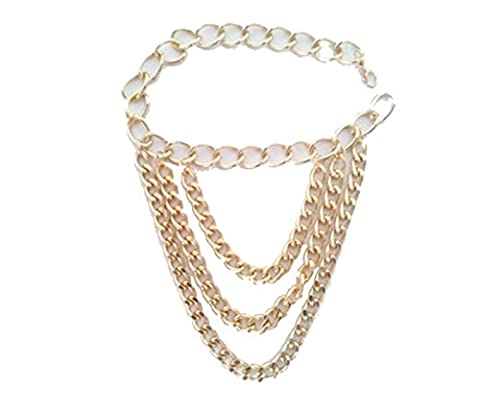 2PCS Metal Triple Chain High Heels Accessories Women Beach Barefoot Sandal Foot Jewelry Anklet