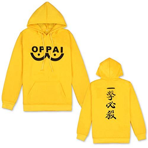 9e7460633774b Cosstars One-Punch Man Oppai Anime Hoodie Sweat à Capuche Adulte Cosplay  Pullover Sweat-