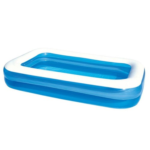 FAMILY POOL Planschbecken BESTEAY 2-Ring blau 262 x 175 cm ()