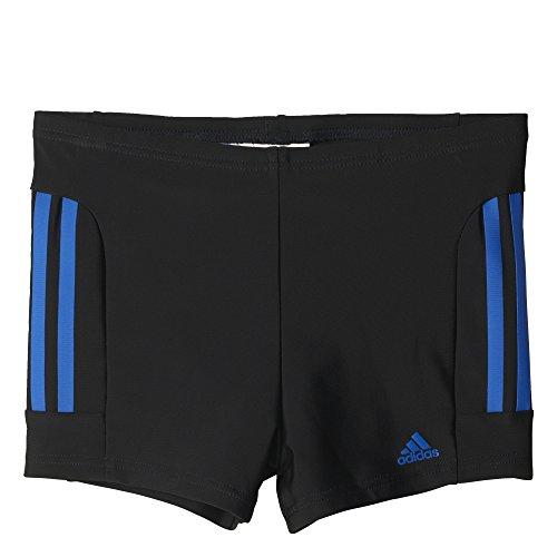 adidas-jungen-infinitex-essence-core-3-stripes-boxer-badehose-black-blue-140
