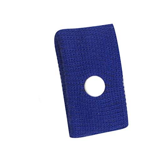 1pc Anti-Übelkeit-Armbänder Krankheit Bewegung Kranken Auto fliegen Schwangerschaft Seereisen Reise Flugzeug Armbanduhr gegen Übelkeit Armband Anti-Motion-Krankheit (blau)