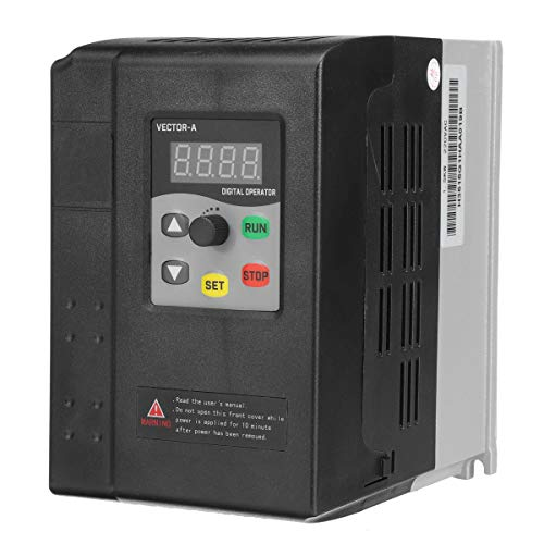 ExcLent 220V 1.5Kw Variable Frequency Inverter Vector Control 1 Phase To 3 Phase Frequency Inverter -