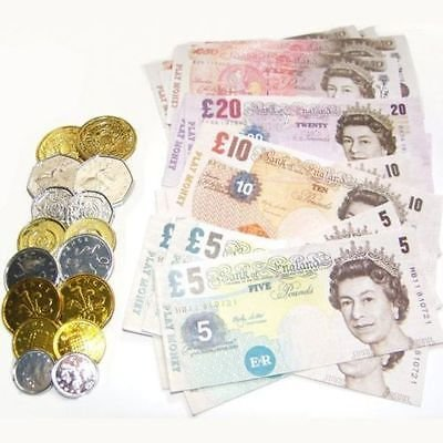 Children Fake Money Play Set Ideal Set for Kids to Play withLearning About Money
