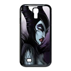 Top Case Disney Cartoon Sleeping Beauty Maleficent Angelina Jolie SamSung Galaxy S4 I9500 Hard Protective Case