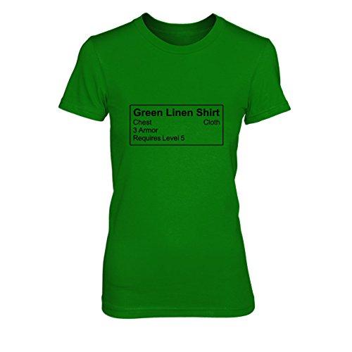 Shirt Item - Damen T-Shirt, Größe: XL, Farbe: (Rüstung Kostüm Lich King)