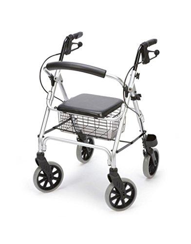 Andador rolator de aluminio