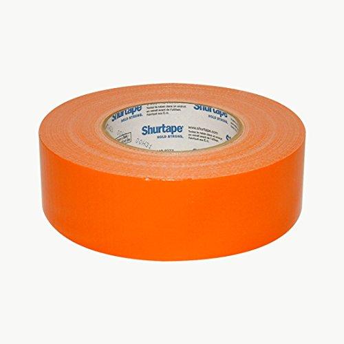 Shurtape pc-618Industriequalität Duct Tape: 2in. x 60Yards. (orange) (12 Flex Duct)