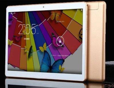 10.6 pouces Tablet PC Android 5.1 HD Résolution 2560 * 1600 4Go RAM 64Go ROM MTK6592 Octa core 2.0GHZ 13.0MP + 5.0MP double caméra 4G réseau d'appel Double carte SIM Oro