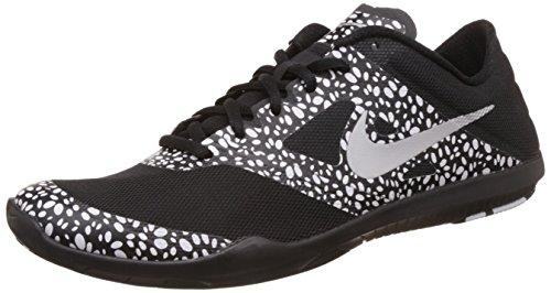 Nike Women's W Nike Studio Trainer 2 Print Black and White Running Shoes - 5 UK/India (38 EU)(5.5 US)