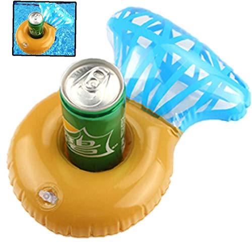 Aufblasbare Pool Getränkehalter Schwimmdock Coasters Multi-Form-Schwimmen-Becherhalter Wasser Floats Kinder Badespielzeug Ideal Für Hochzeit Bachelorette Pool-Party (Kind Trinken Coaster)