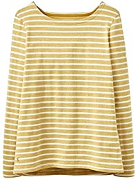 Joules Harbour Top - Antique Gold Stripe