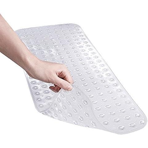 Balala alfombra para bañera antideslizante 98.5x39.5cm transparente