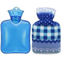 Preisvergleich für Heißwasser-Flasche 250ML, wärmen Ihre Hände / Behandlung von wunden Muskeln, gelegentliche Farbe D