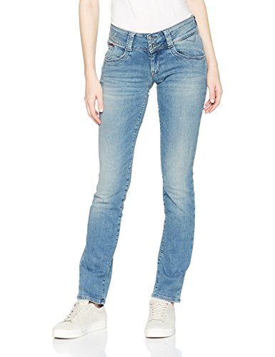 Tommy Jeans Damen Low Rise  Viola  Straight Leg Jeans Blau (Alaska Cross Light Blue Stretch 911) W29/L32 Denim Low Rise Jeans