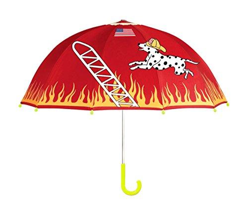 Kidorable Fireman Kids Umbrella Red