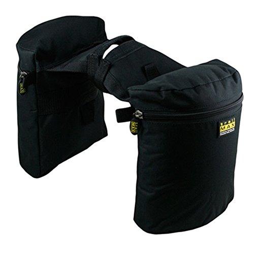 trailMAX Original Doppel Horntasche Satteltasche Western Packtasche schwarz