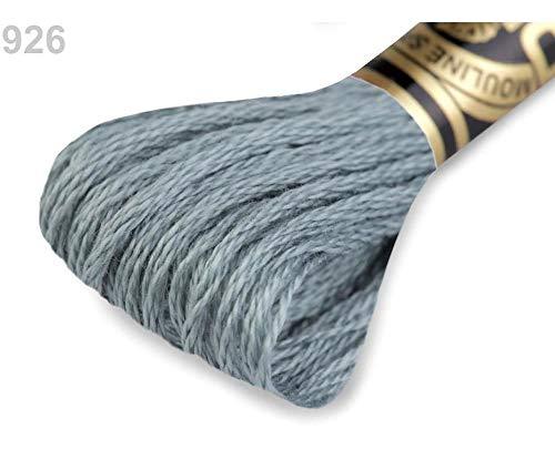 1stück 926 Flint Gray Stickgarn Dmc Mouliné Spécial Cotton, Garne Mouline, Stricken, Häkeln Und Sticken, Kurzwaren