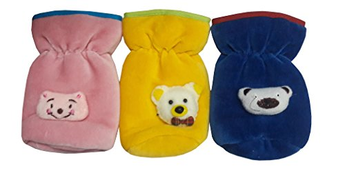ESELPRO BABY BOTTLE COVER SET ( coloue of the product may vary ) (VELVET SET 3)
