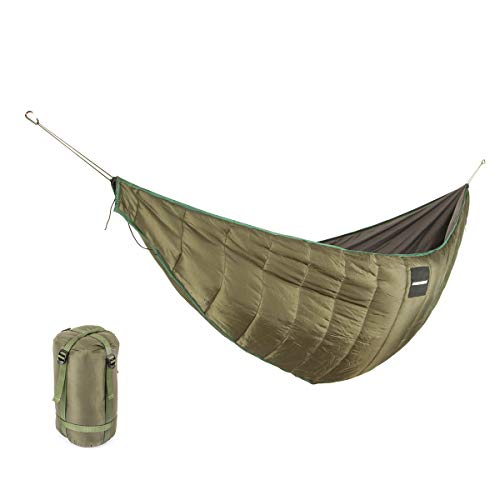 Hängematte Underquilt Isomatten Underblanket für Hängematten leichte Camping Doppel Winterschlafsack unter Quilt Blanket Ultralight Unterquilt
