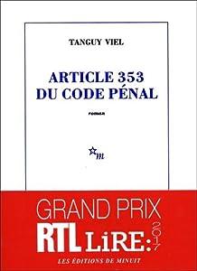 vignette de 'Article 353 du code pénal (Viel, Tanguy)'