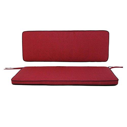 Polsterauflage OUTLIV. 2-Sitzer-Auflage rot für Romeo / Rosanna Elegance Sitzauflage