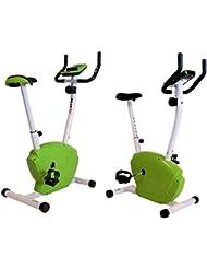 MAXOfit® MF-19 Vélo d appartement ,Fitness Bike Greenline avec compteur électronique, 65934