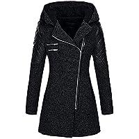 Con Invernale Elegante Cappuccio Tumblr moda Casuale Donna Bazhahei Giacca Overcoat Donna cappotto xqAngw4a1