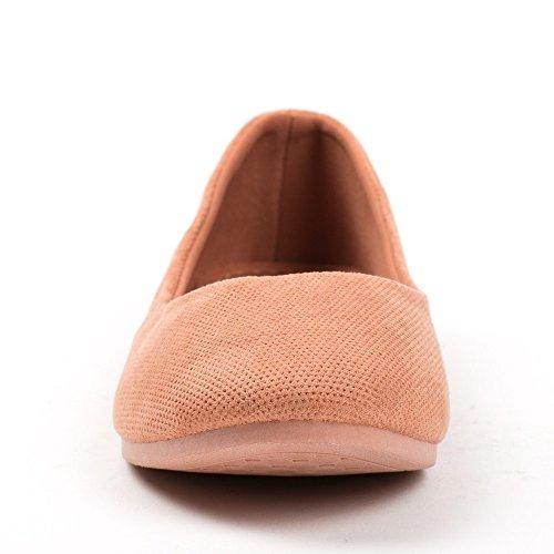 Ideal Shoes ,  Ballerine donna Arancione